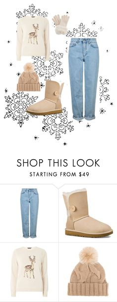 """""""#Fashion"""" by merima-699 ❤ liked on Polyvore featuring Topshop, UGG Australia, Dorothy Perkins and Loro Piana"""