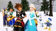 Kingdom Hearts Frozen.
