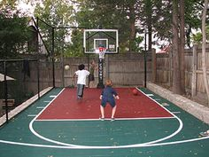 20 Best Backyard Basketball Courts Images In 2018 Handball