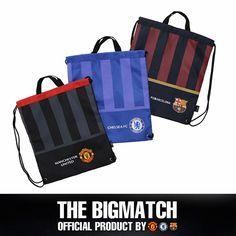 Manchester United  FC Barcelona Official backpack sport EPL assistant bag AC5S01 #Eon #Backpack