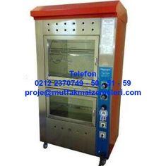 Gazlı Piliç Çevirme Makineleri: Tavuk Çevirme Dolabı