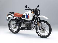 Wahacz wleczony, jednostronny-Monolever. BMW R 80 GS z 1980 roku.
