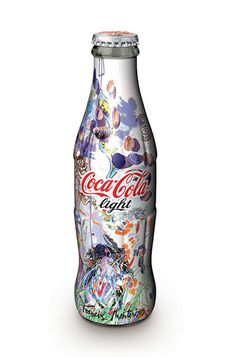"""Modelito de """"Francis Montesinos"""" para botella de Coca Cola"""
