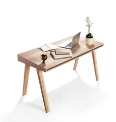 Rectangular wooden writing desk 4.9 - EMKO UAB