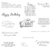 Bring on the Cake- stampin up