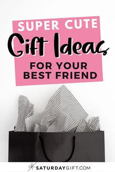Looking for cute, fun, amazingly awesome yet affordable gifts for friends? Super! Here's a list of gift ideas your best friends are going to love!  Grab this post for ideas whenever you need them.  #gifts #ideas #planning #bestfriend #cute Cute Gifts For Friends, We Are Best Friends, Best Friend Gifts, Your Best Friend, Best Gifts, Printable Planner, Printables, Exploding Gift Box, Best Planners