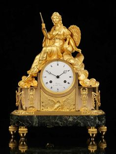 French Empire Mantelclock 1810