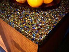 Concrete countertop, glass, beautiful, incredible