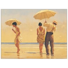 Mad Dogs by Jack Vettriano - part of The Classic Collection release of limited edition prints You can also find it in Vettriano's book Lovers & Other Strangers Jack Vettriano, The Arnolfini Portrait, The Singing Butler, Painting Prints, Art Prints, Oil Paintings, Painting Art, Dog Beach, Exhibition Poster