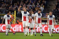 #ChampionsLeague: Manchester United 1-0 Real Sociedad, Real Madrid 2-1 Juventus, Bayern Múnich 5-0 Plzen, Aderlecht 0-5 PSG