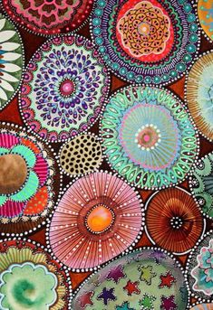 Art, iphone wallpaper, and mandala image Pattern Art, Pattern Design, Nature Pattern, Pattern Drawing, Surface Pattern, Textures Patterns, Print Patterns, Motifs Textiles, Mandalas Drawing