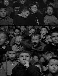 """Stills from """"The 400 Blows."""""""