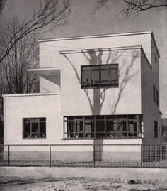 Architect Otto Haesler 1928