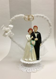 Spanish cake topper around 1986