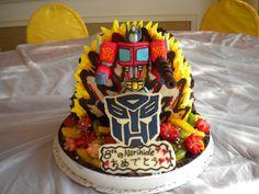 Norihide's 8th birthday cake   (5 pounds)