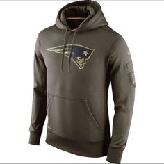 c6ddb2578 Nike New England Patriots Salute To Service Hoodie
