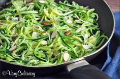 Skillet Zucchini Matchsticks (and an OXO Julienne Peeler Giveaway!)