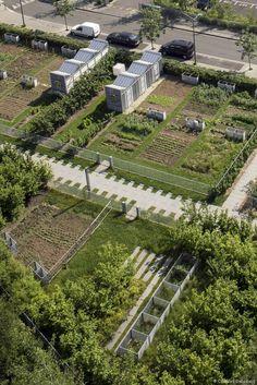 jardin partag en coeur d 39 lot lyon confluence france laurence dani re spl lyon. Black Bedroom Furniture Sets. Home Design Ideas