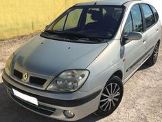 2002 Renault Scenic dTi diesel 5 seater mpv for sale in Spain (Costa Blanca) Alicante Spanish registered left hand drive Renault Scenic dTi five seater mpv finished in silver metallic with two tone grey cloth interior kms Diesel Cars, Alicante, Cars For Sale, Automobile, Sci Fi, Spain, France, Car, Science Fiction