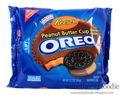 Sometimes Foodie: Limited Edition Reese's Oreos - Walmart: Somerville, NJ