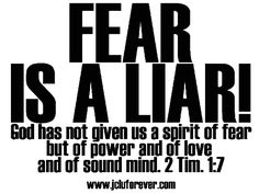 God has not given us a spirit of fear but of power and of love and of sound mind. 2 Timothy 1:7 || jcluforever, Jesus is calling YOU