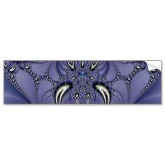 #Purple #Ornament #Bumper #Stickers