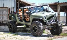 If you look closely enough at the JK Crew you'll see elements of a Jeep, a baja truck and even a dump truck. This vehicular chimera of off-roading, monster Jeep 4x4, Jeep Rubicon, Jeep Wrangler Unlimited, Jeep Truck, Wrangler Truck, Jeep Wranglers, Hummer Truck, Wrangler Sport, Jeep Pickup