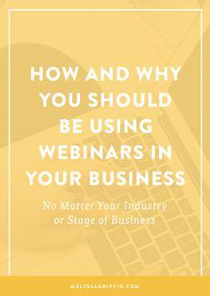 Webinars   Online Business   Online Marketing
