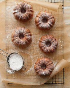 Olive Oil-Anise Mini Bundt Cakes Recipe