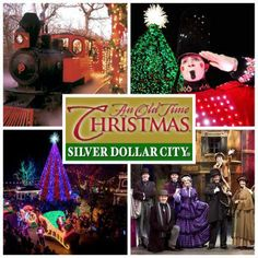 Silver Dollar City's Christmas celebration begins tonight! An Old Time Christmas lights up Silver Dollar City with millions of lights, a fabulous tree, special shows, and of course a parade featuring Santa himself. - Branson Shows