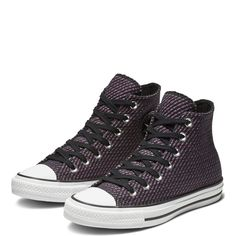 5417915713d Chuck Taylor All Star Wonderland High Top Black Icon Violet Cool Grey