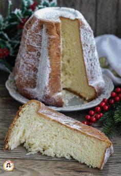 Italian Christmas Cake, Vanilla Cake, Deserts, Food And Drink, Pandora, Dessert Recipes, Rolls, Pie, Xmas