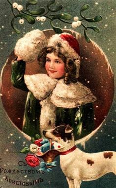 Old Christmas Cards Vintage Christmas Images, Old Christmas, Old Fashioned Christmas, Victorian Christmas, Vintage Holiday, Christmas Pictures, Christmas Greetings, Christmas Crafts, Christmas Sweets