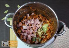 SZÉKELYKÁPOSZTA RECEPT VIDEÓVAL - székelykáposzta készítése Sauerkraut, Acai Bowl, Cereal, Grains, Rice, Breakfast, Recipes, Food, Goulash Recipes
