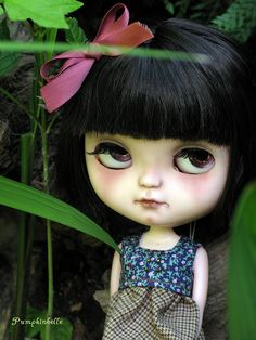 Ivy.  The Pumpkinbelle custom Icy doll.