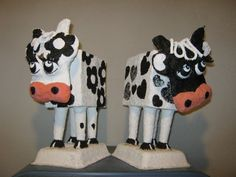 Vaca Lola     #Art, #Milk, #PaperMache, #Sculpture