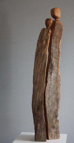Kathryns Paar - wood artist at SkulpTour - # wood artist . - Kathryns Paar – wood artist at SkulpTour – # Wood Artist - Driftwood Sculpture, Driftwood Art, Abstract Sculpture, Sculpture Art, Bronze Sculpture, Cardboard Sculpture, Angel Sculpture, Sculpture Ideas, Metal Sculptures