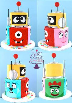 collage_tiered_yo_gabba_gabba_1st_birthday_cake.jpg (348×496)