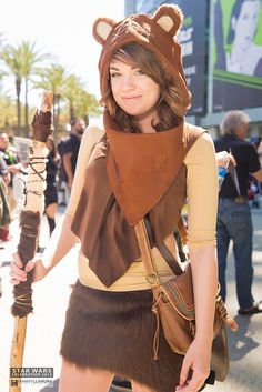 Ewok #cosplay | Star Wars Celebration 2015