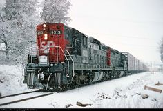 RailPictures.Net Photo: SP 4313 Southern Pacific Railroad EMD SD9 at Ashland, Oregon by Wendel Moran