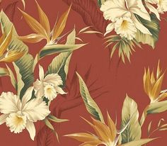 White Orchid Wallpaper $24.99