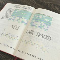 How to Track Your Mood in a Bullet Journal ..... How interesting when your self care tracker is all filled out, alongside your habit tracker no less. Correlations? Inspiration & great ideas for your mental health, like this one.