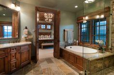 Master Bathroom by Cameo Homes Inc.  www.cameohomesinc.com
