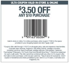 Ulta Coupons Ends of Coupon Promo Codes MAY 2020 !, store region in United Ulta as & in known a the it Salon, place this headqua. Benefit Brow Bar, Ulta Coupon, Michael S, Free Printable Coupons, Salon Services, Extreme Couponing, Discount Coupons, Good To Know