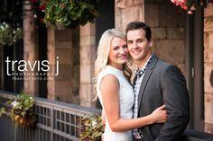 Denver Engagement Photo, White Dress, Travis J Photography, Colorado