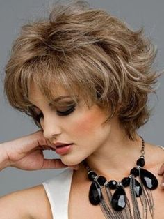 Thick Short Hairstyles for Older Women Above 40 and 50