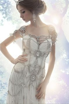 would love this for my next holloween costume or dress to renew my vows! Any reason to wear it really !