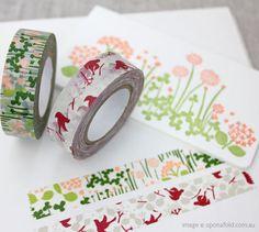 gorgeous washi tape