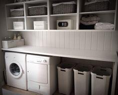 Bilderesultat for ikea vaskerom Hanging Canvas, Work Surface, Modern Kitchen Design, Washing Machine, Ikea, Gallery Wall, Home Appliances, Layout, House Appliances