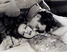 John Gilbert and Greta Garbo | by Vintage-Stars